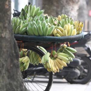 バナナの行商