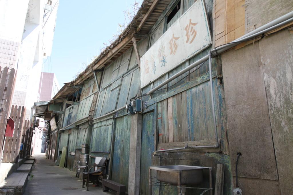 古い街並み(西莒島)
