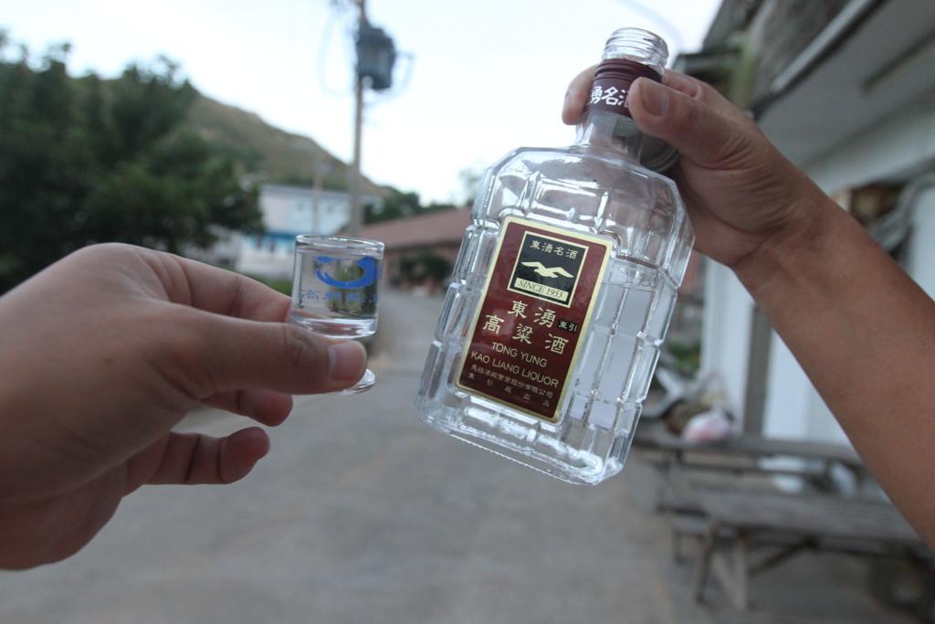 馬祖の伝統的なお酒「東湧高粱酒」