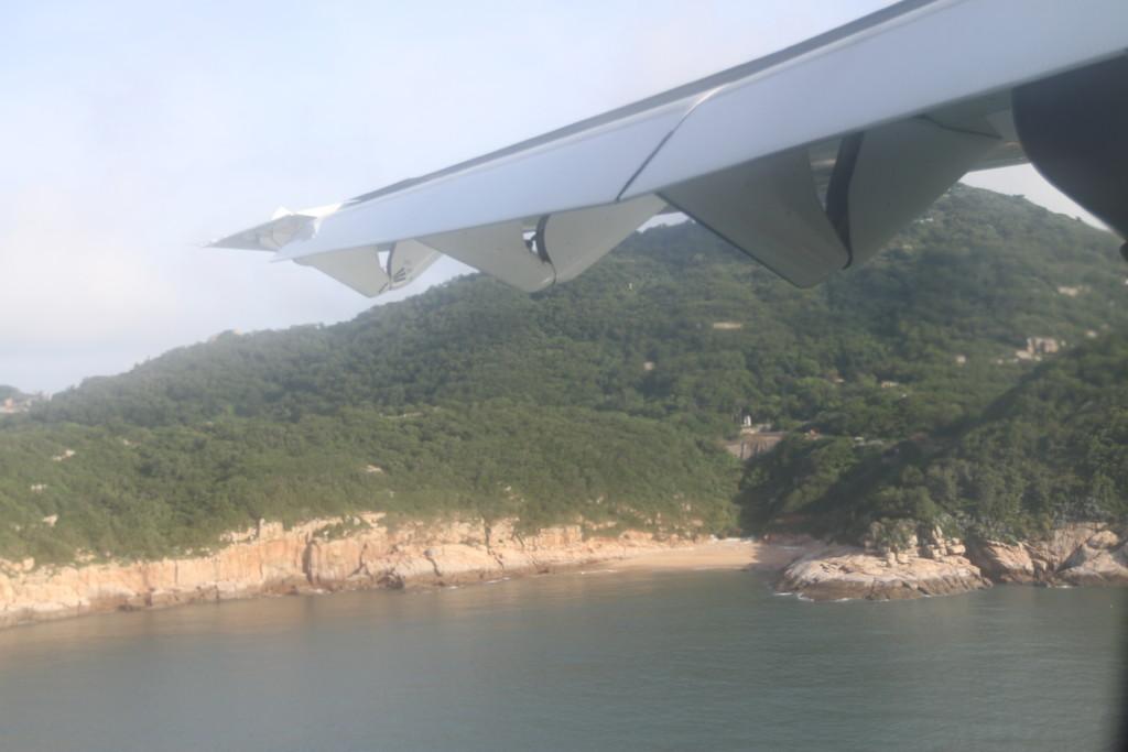 「北竿」の島が見えた 2