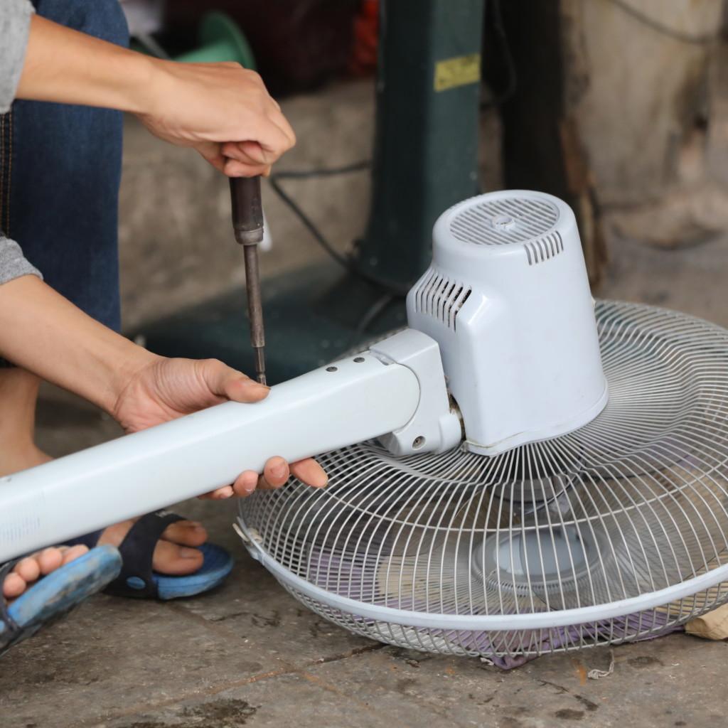 「扇風機修理」専門店