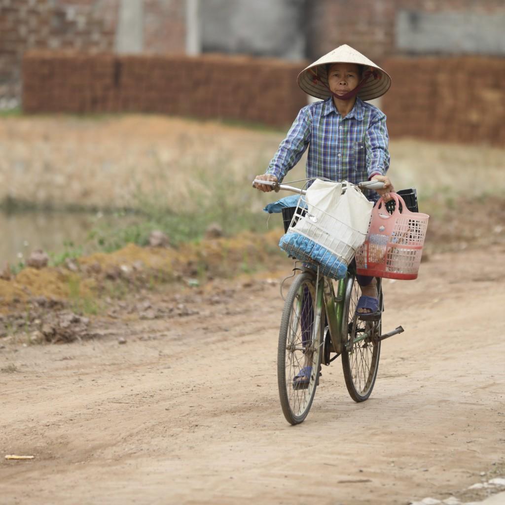 自転車で買い物へ?