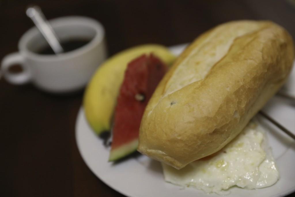 朝食つき!