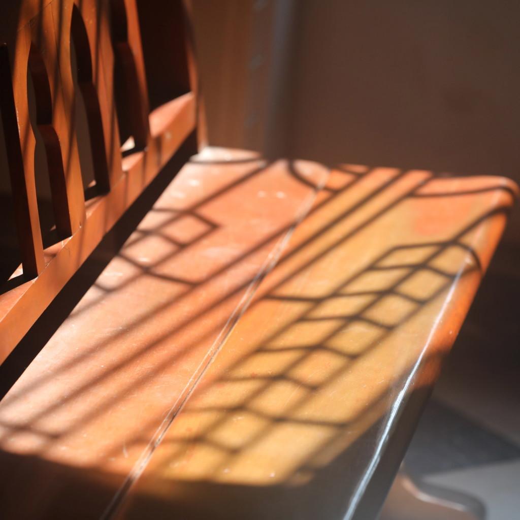 西洋風デザインの窓枠