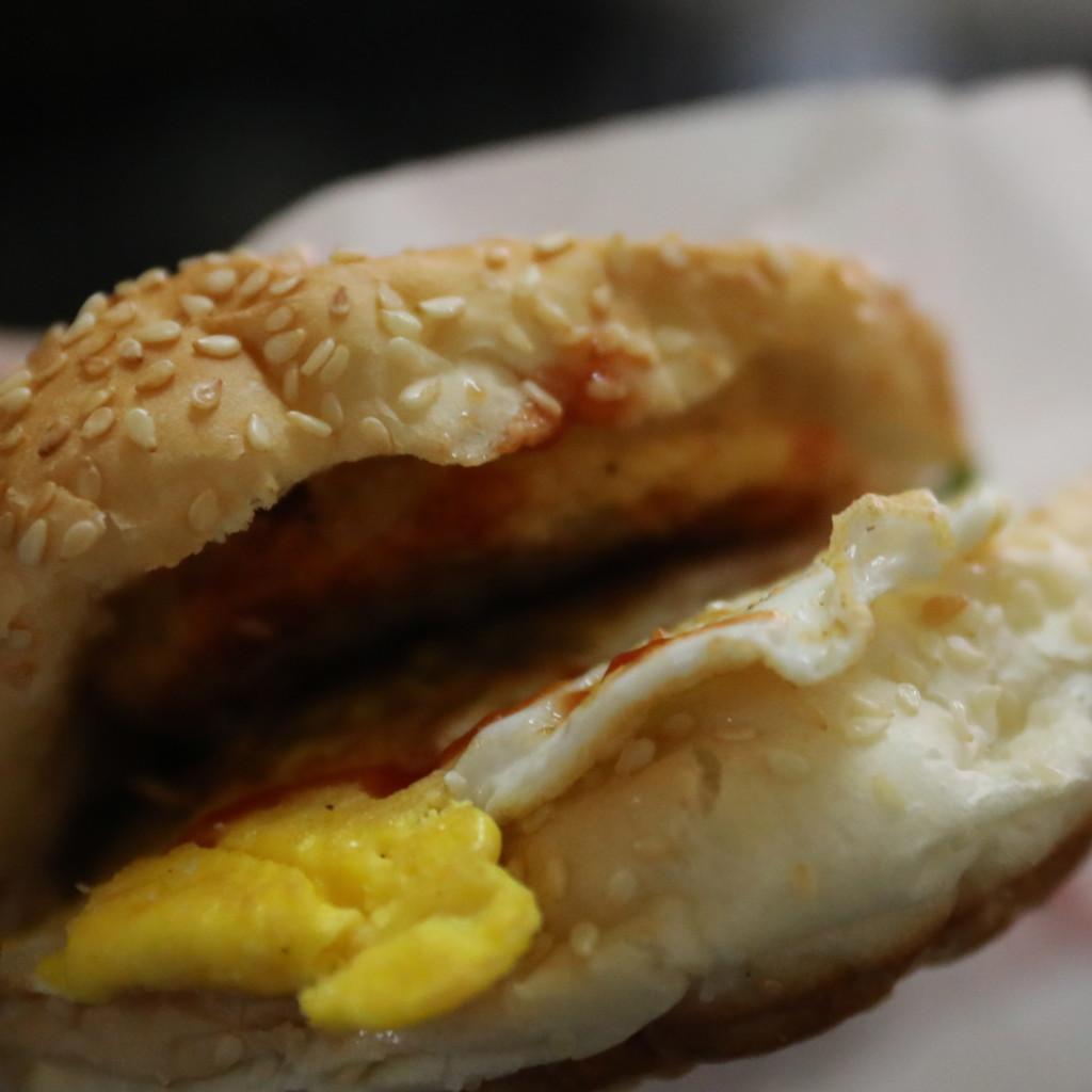 台湾風ハンバーガー
