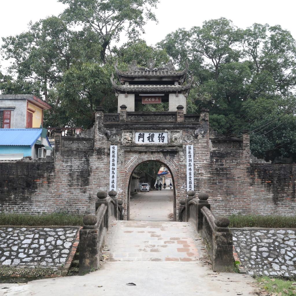 集落の「表玄関」