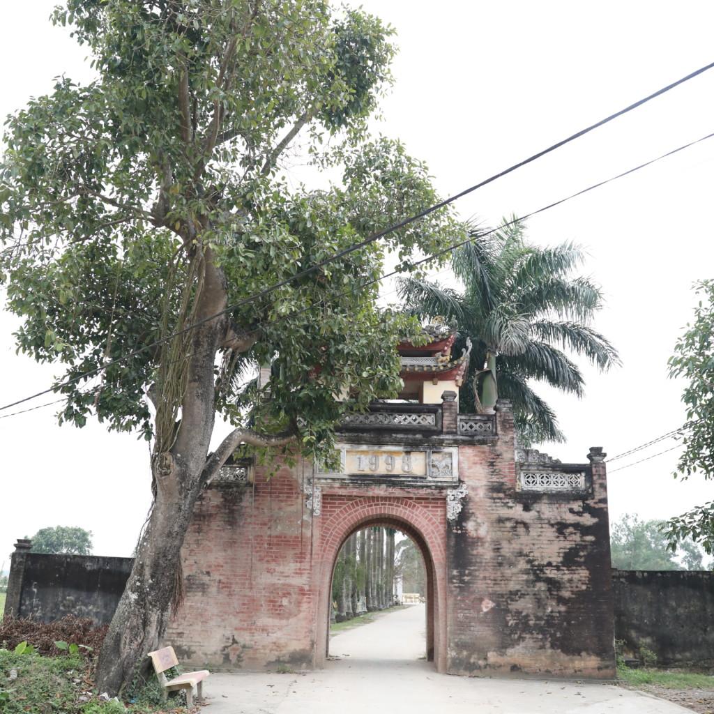 集落の「裏玄関」