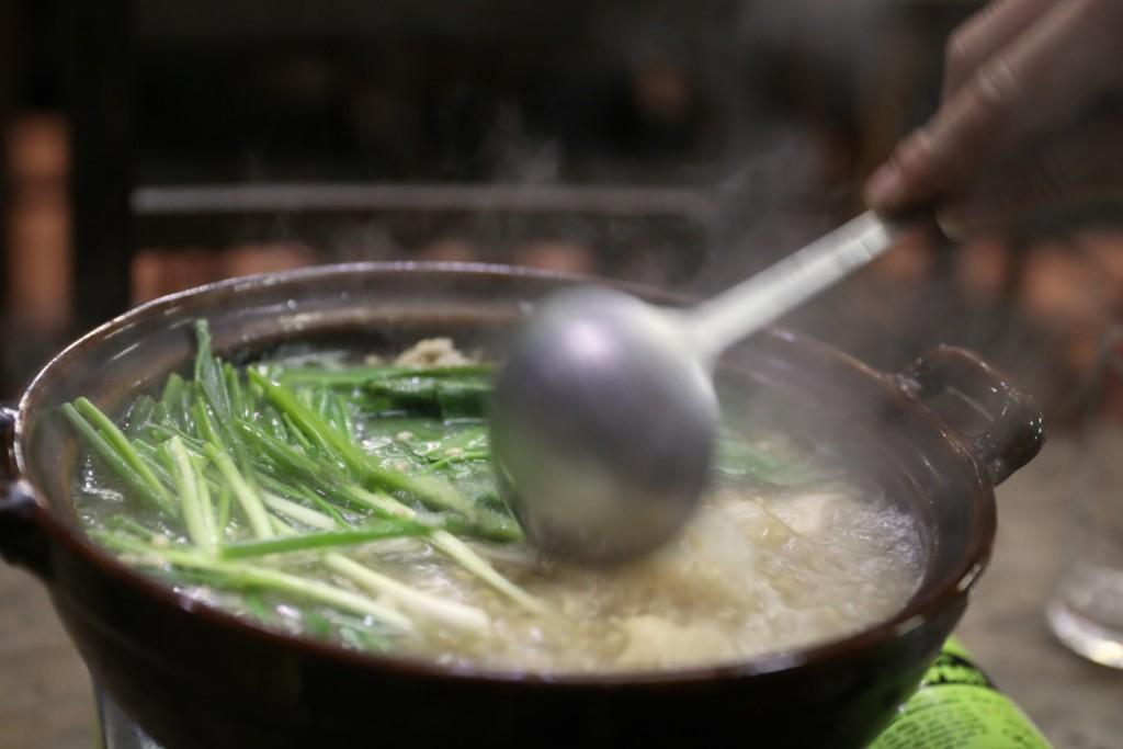 鍋奉行つき