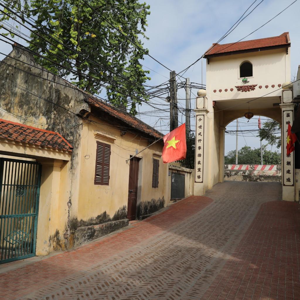 集落のゲート